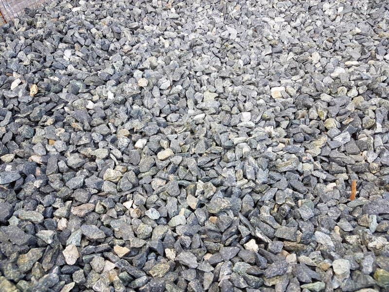 Texture : gravier écrasé par amende Soulagements artistiques des objets naturels Petites pierres blanches de craie image stock