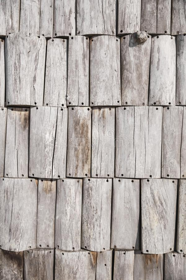Texture of gray gray fence boards. To use as background stock photo
