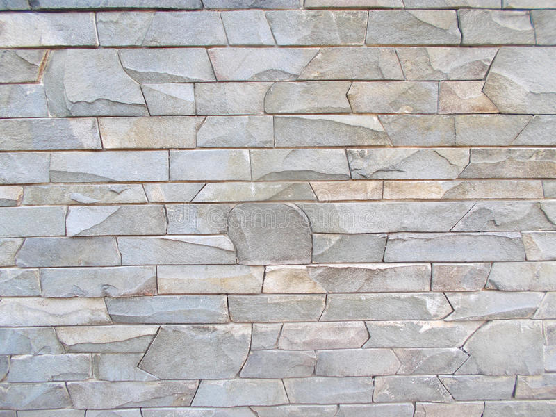 Texture of gray stone wall stock image