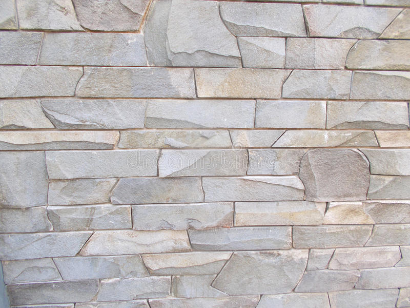 Texture of gray stone wall 4 stock images