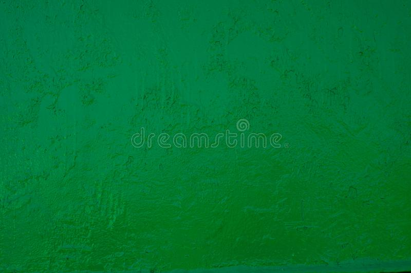 Texture of green vintage old paint on the wall. Image royalty free stock photo