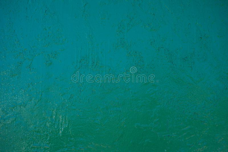 Texture of green vintage old paint on the wall. Image royalty free stock images