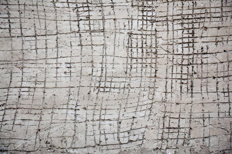 Texture grise blanche sur le mur images libres de droits
