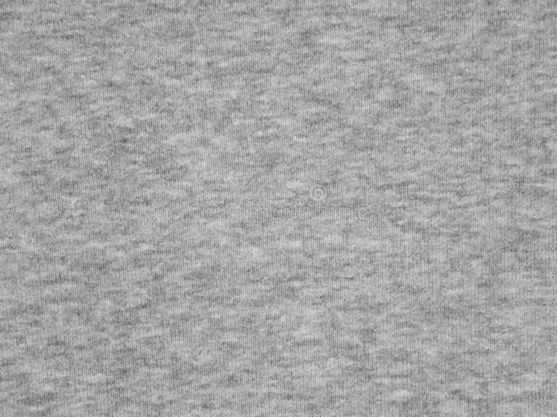 Texture grise de tissu de pull molletonné de Heather photo stock