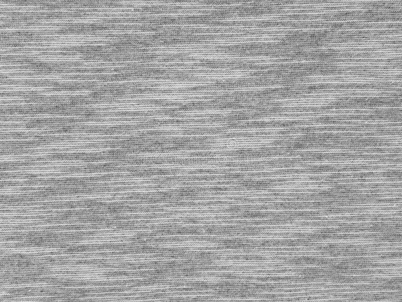 Texture grise de tissu de T-shirt de Heather images stock