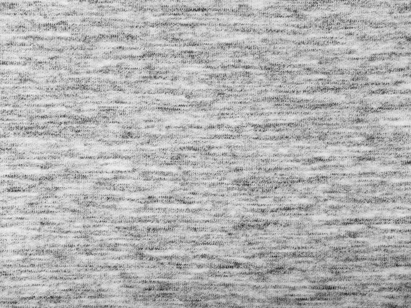 Texture grise de tissu de tricots de bruyère légère image stock