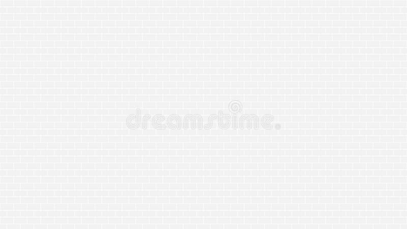 Texture grise ou grise sans couture de mur de briques carrelée pour le fond Dans le ton noir et blanc avec la résolution 4k illustration de vecteur