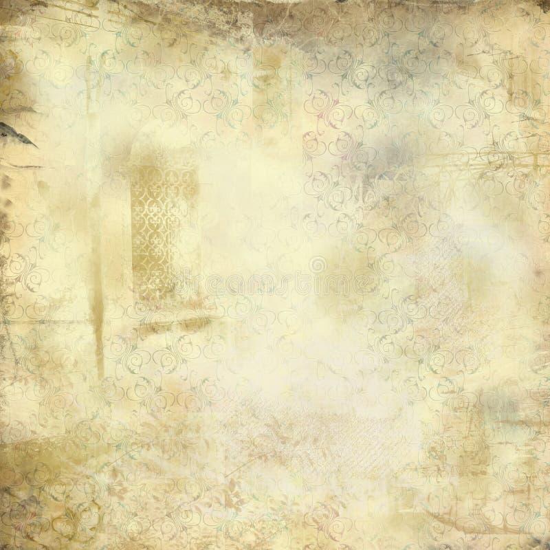 Texture grunge de cru illustration de vecteur