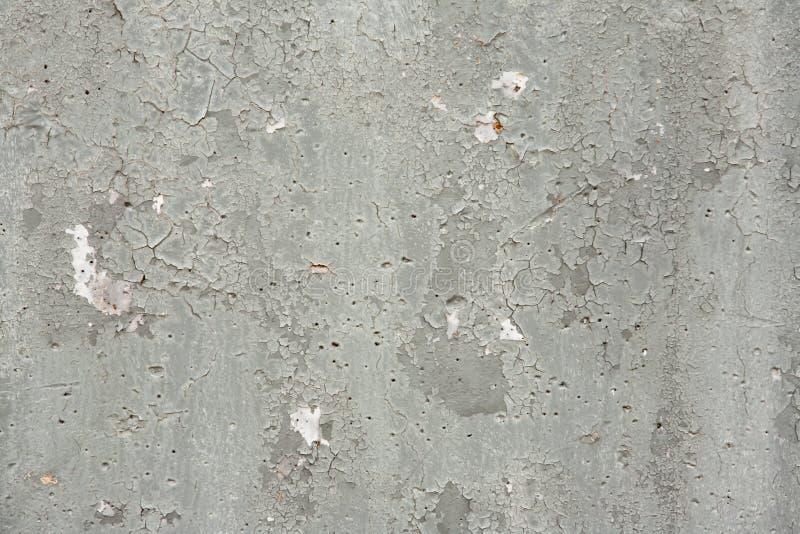 Texture grunge de fond de Gray Chipped Paint Concrete Wall photos libres de droits