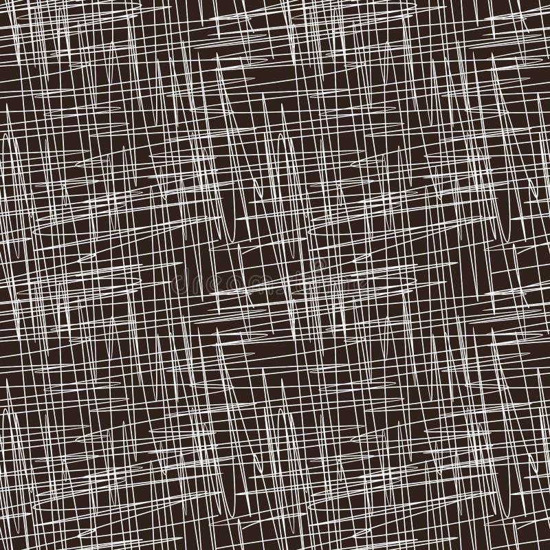 Texture grunge de griffonnage de modèle sans couture abstrait illustration libre de droits