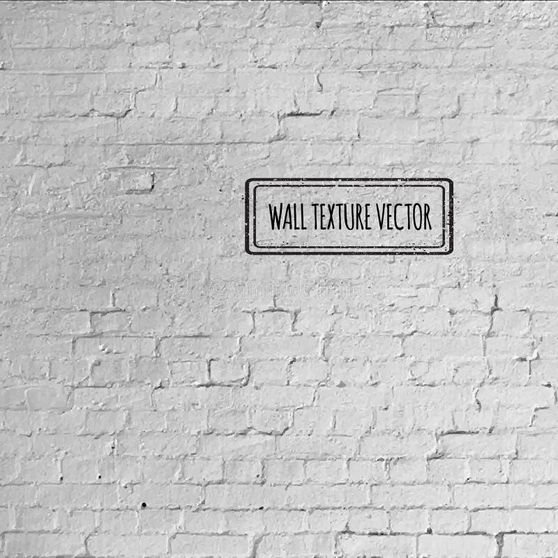 Texture grunge de mur de briques de vecteur illustration libre de droits
