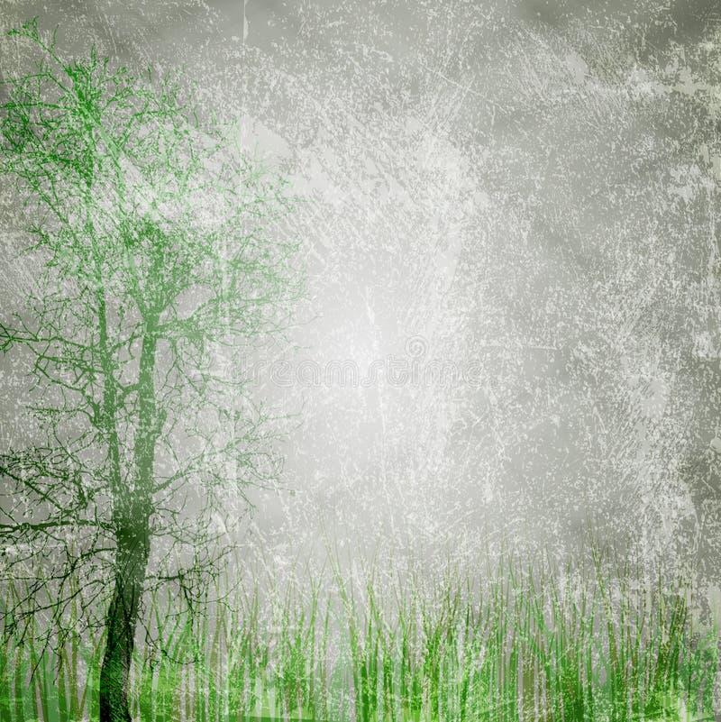Texture grunge de nature illustration stock