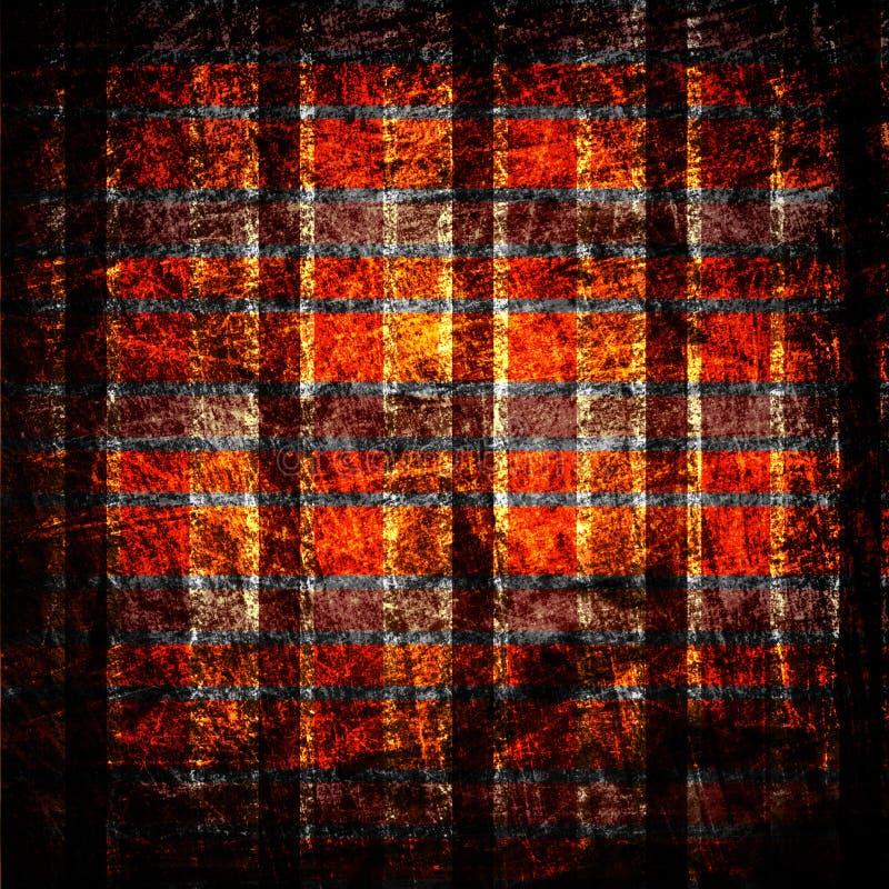 Texture grunge de toile de tissu illustration de vecteur
