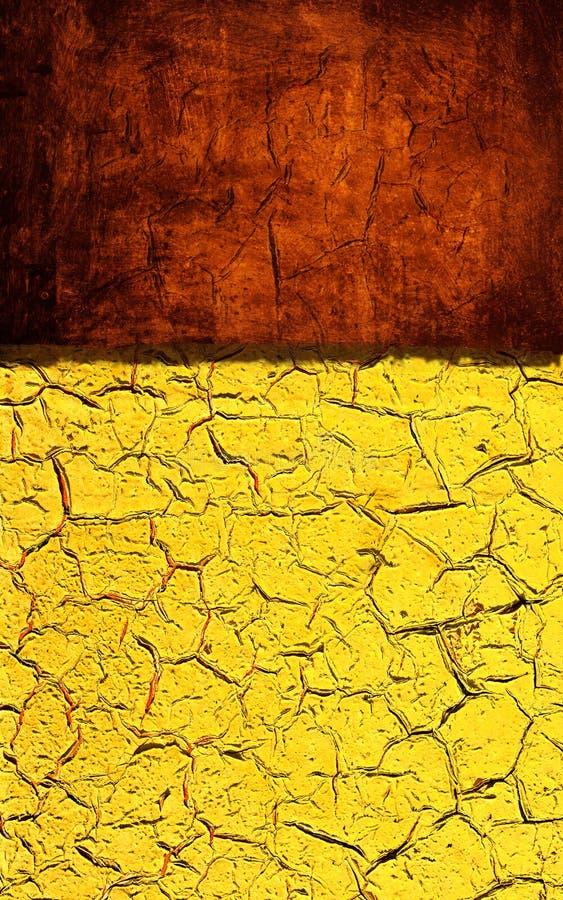 Texture grunge jaune rouge photo stock. Image du carte - 17761540