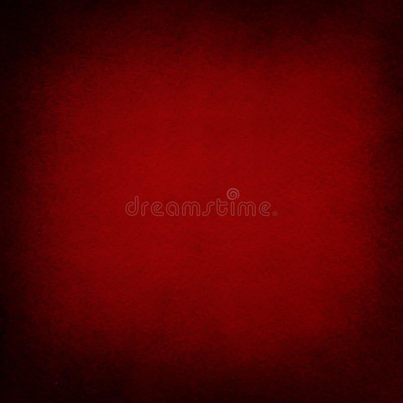 Texture grunge rouge d'exposé introductif, fond de cru de Noël, blanc, rétro, noir, rugueux illustration libre de droits