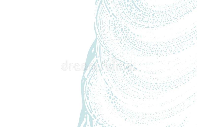 Texture grunge Trace approximative bleue de détresse Fond stupéfiant Texture grunge sale de bruit Admi illustration stock