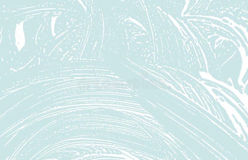 Texture grunge Trace approximative bleue de d?tresse Ba frais illustration stock