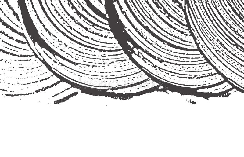Texture grunge Trace approximative grise noire de détresse a illustration de vecteur