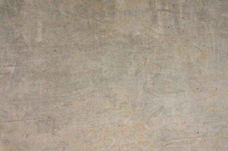 texture horizontal des panneaux de pin inextricable Mur en béton Mur gris Mur non peint photo stock