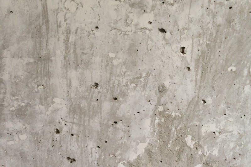 texture horizontal des panneaux de pin inextricable Mur en béton Mur non peint Mur gris en béton photo libre de droits