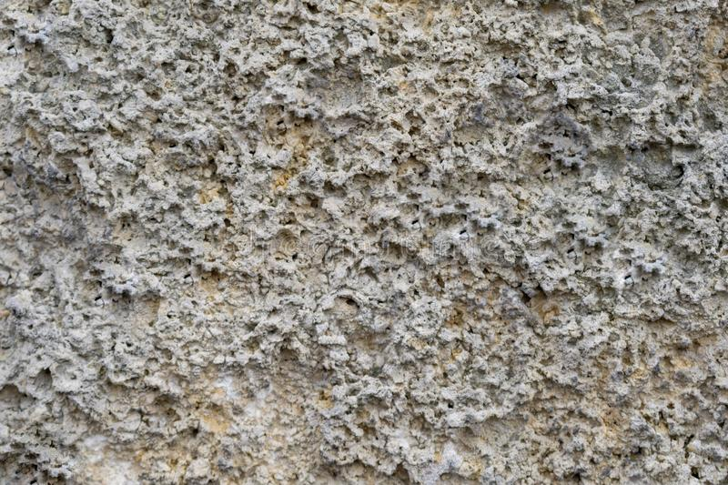 Texture image of the stone surface. Textural image of the surface of the stone destroyed by time royalty free stock photos
