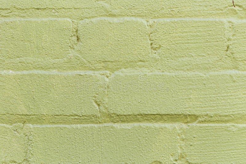 Texture inégale de mur de briques en dehors de green-1 photo libre de droits