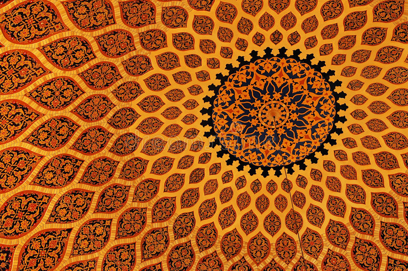 Texture islamique photo stock