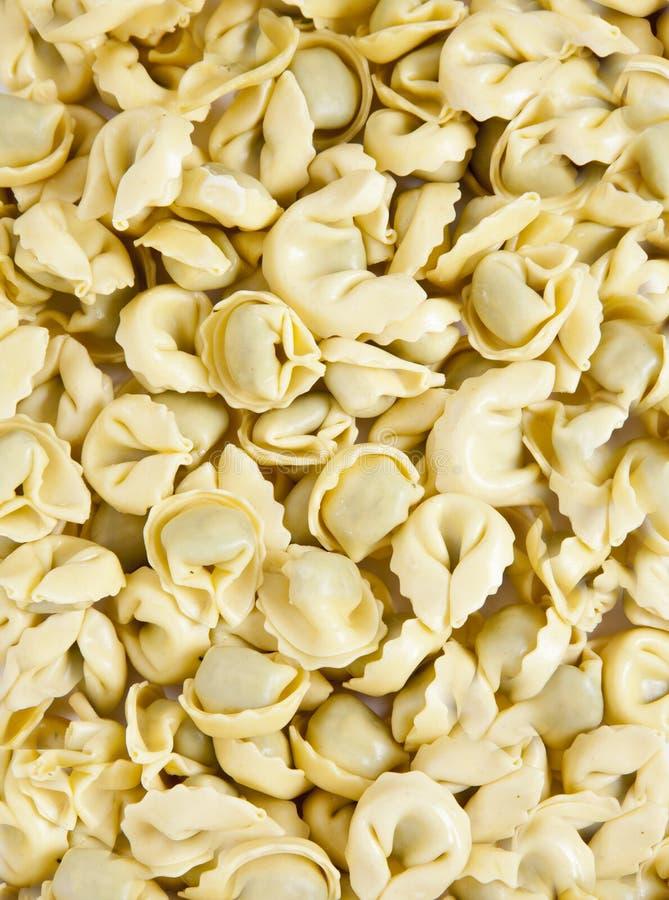 Texture of italian pasta stock photo