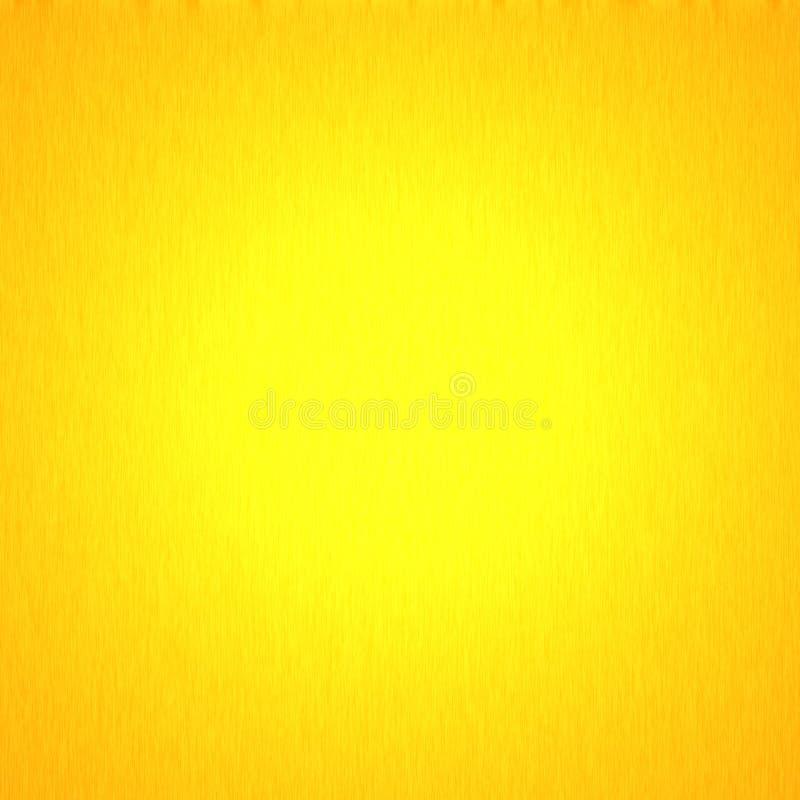 Texture jaune abstraite de fond, lueur lumineuse abstraite illustration libre de droits