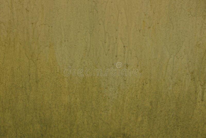Texture jaune de mur en béton de Brown en peinture photo stock