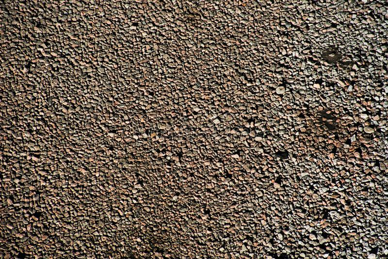 Texture of a large amount of gravel. From above royalty free stock photography