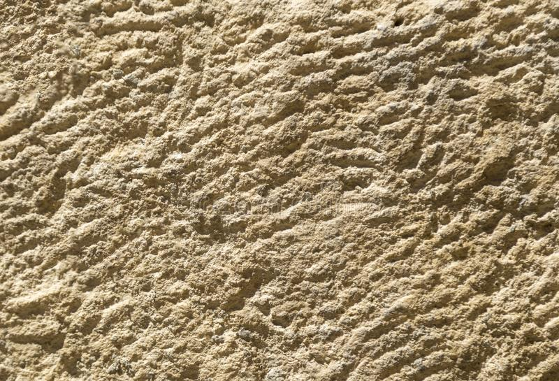 The texture of the limestone slab with small scratches and holes.  royalty free stock photos