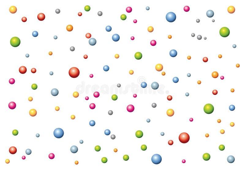 texture of little balls stock image