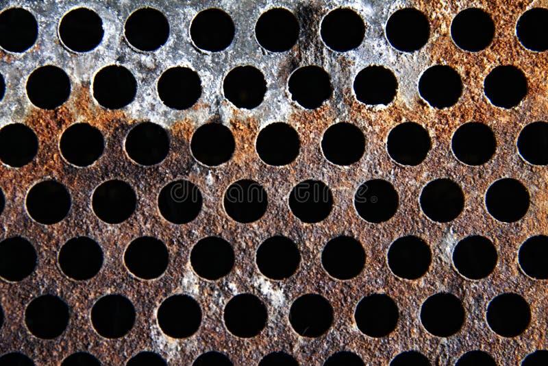 Texture métallique de grillage images stock
