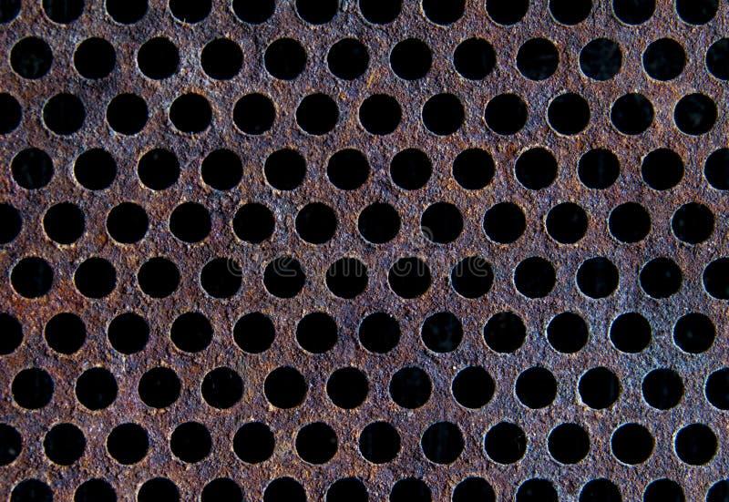 Texture métallique de grillage photo stock