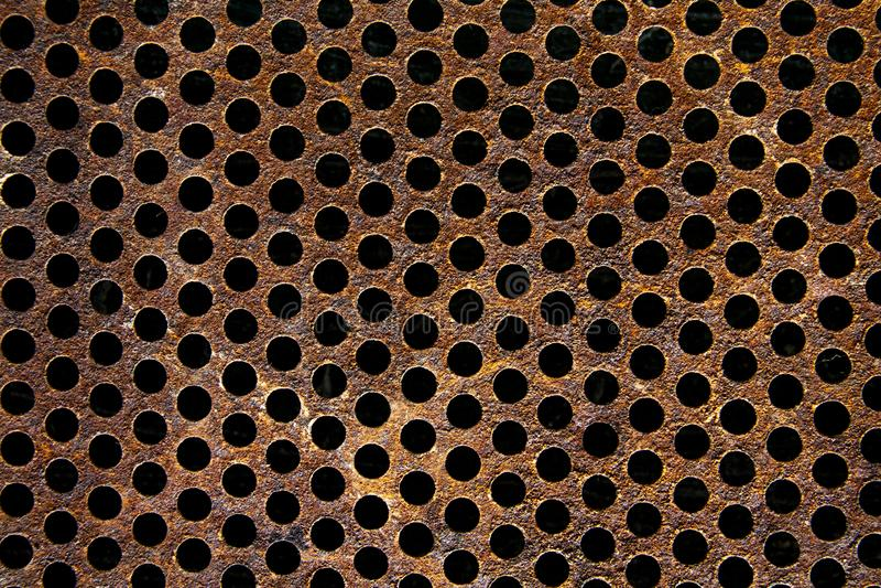 Texture métallique de grillage photos stock