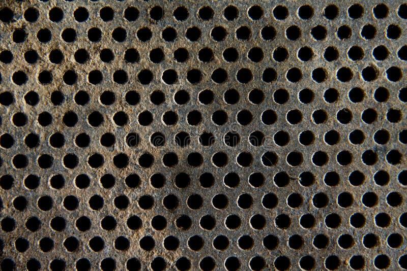 Texture métallique de grillage image stock