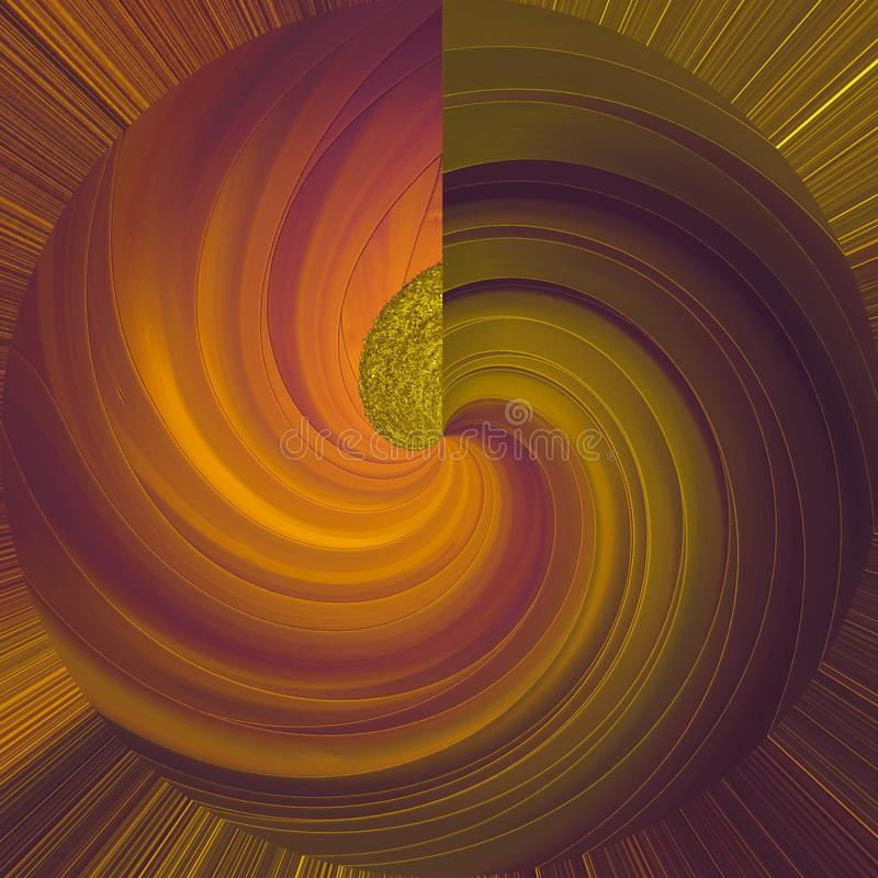 Texture métallique de peinture Fond de courses de peinture de cru Surface texturisée de peinture Courses de pinceau Art Texture m illustration de vecteur
