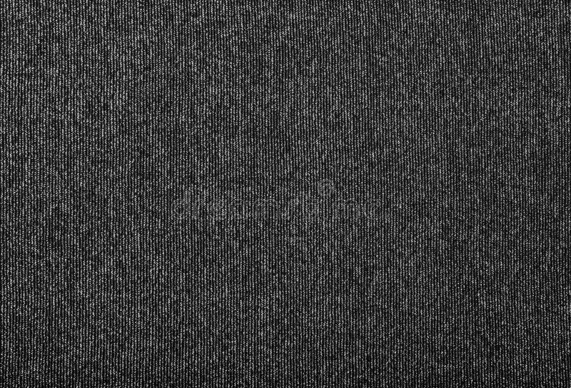 Texture métallique noire et argentée de tissu photos stock