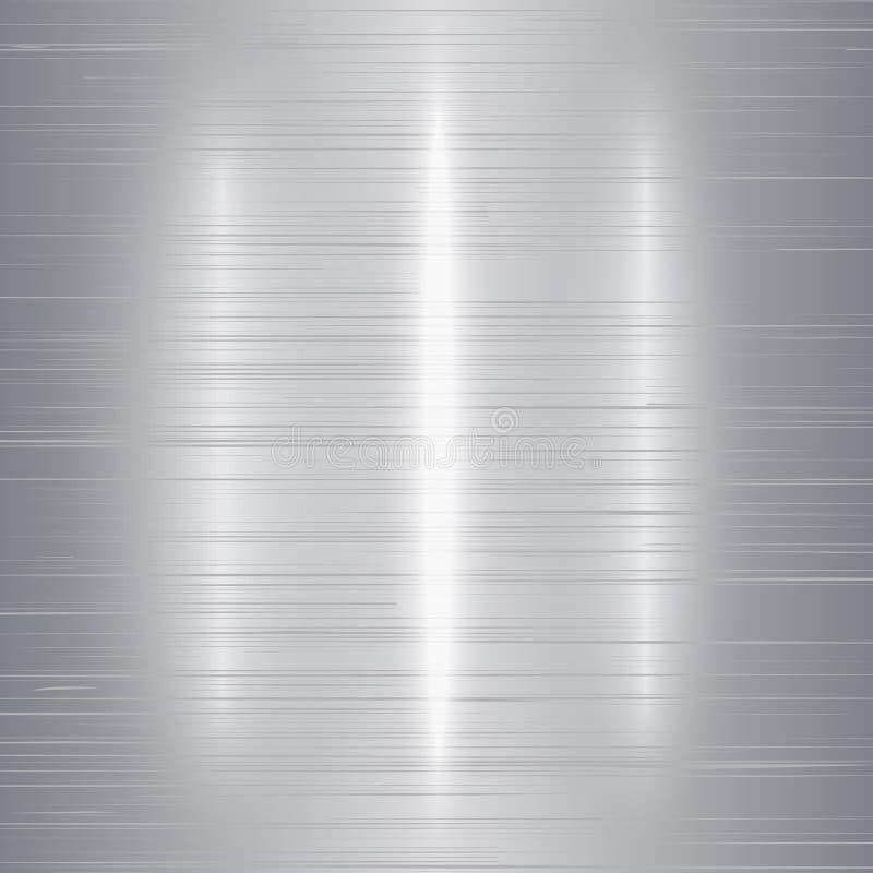 texture métallique polie fond brillant abstrait fait dans le style matériel de conception illustration de vecteur