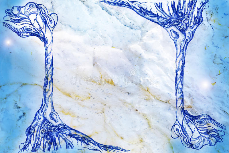 Download Texture of marble stock illustration. Illustration of edge - 18240382