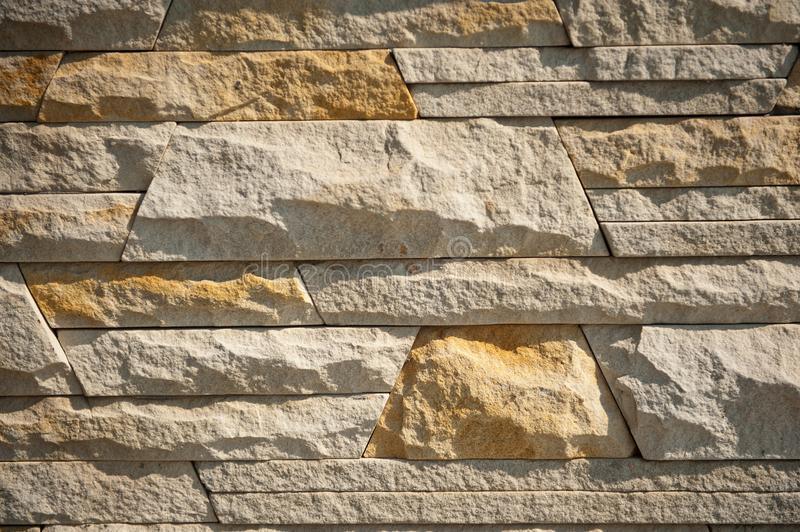 The texture of the masonry wall with the contrast lighting.  royalty free stock photo