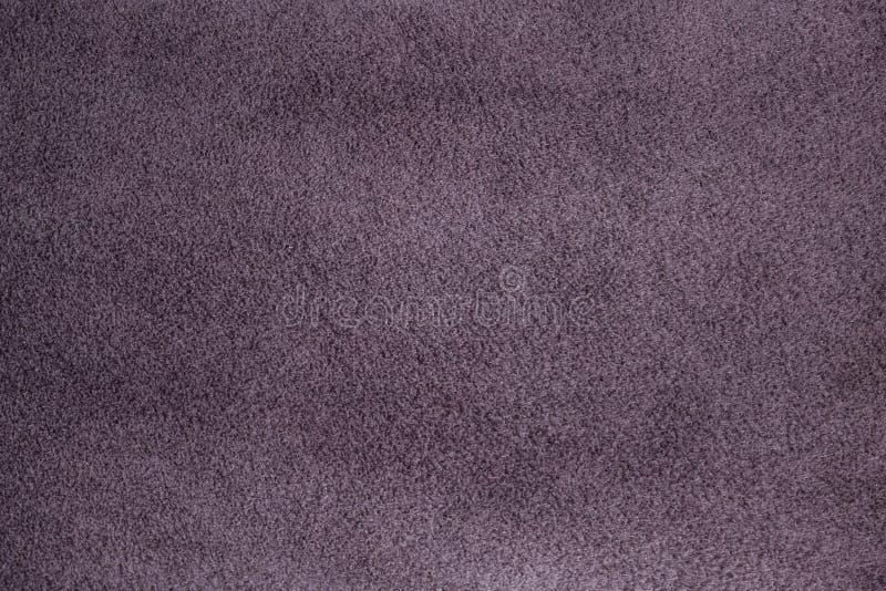 Texture mauve-clair de suède photo libre de droits