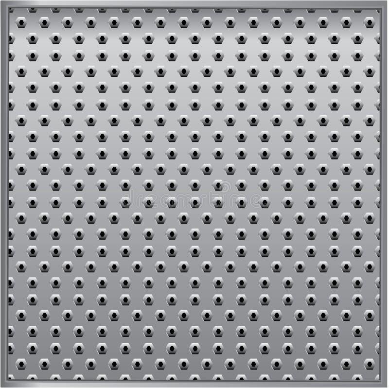 Download Texture metal stock vector. Image of grey, grunge, machine - 13996794