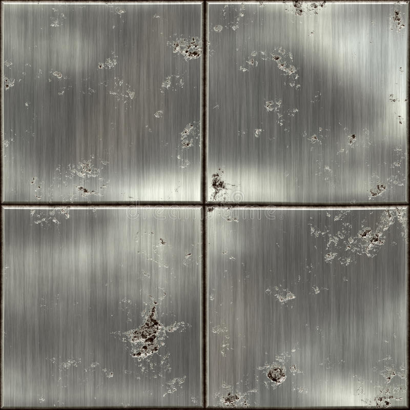 Texture of metal. ( old background royalty free illustration