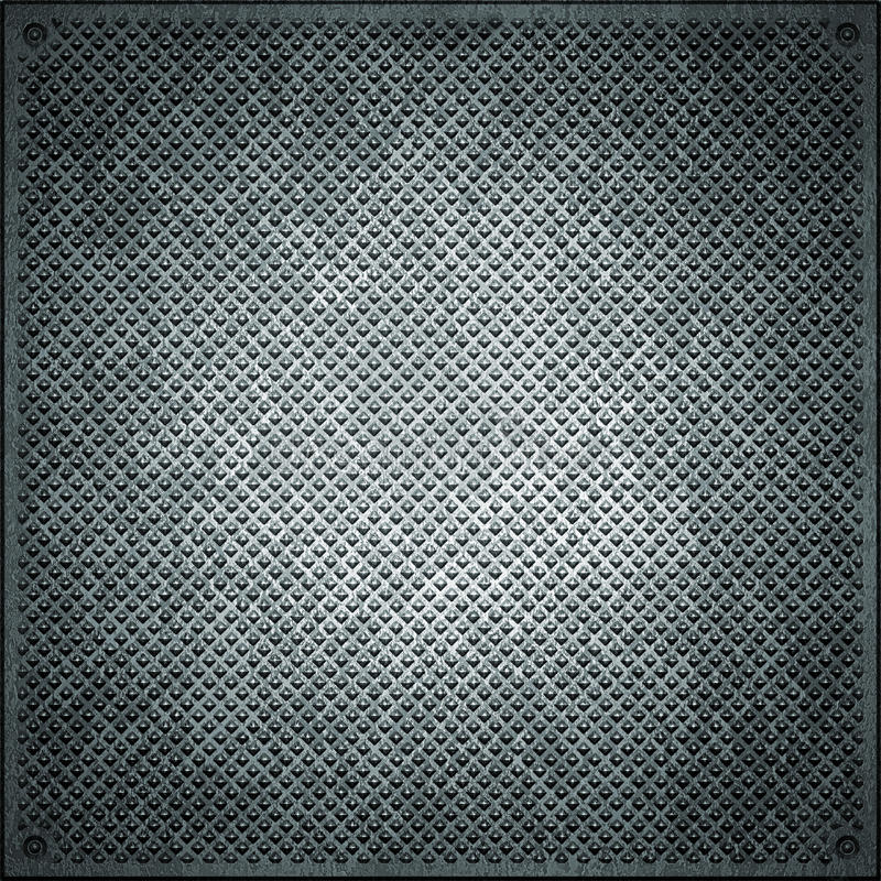Texture of metal. ( old background vector illustration