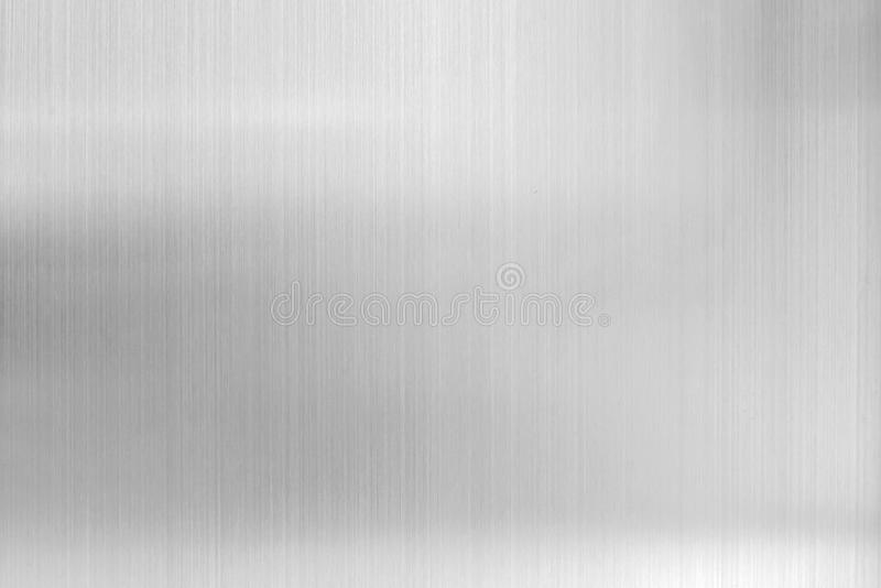 texture metal background of brushed steel plate stock image