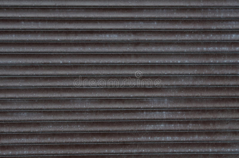Texture of metal shutters royalty free stock image