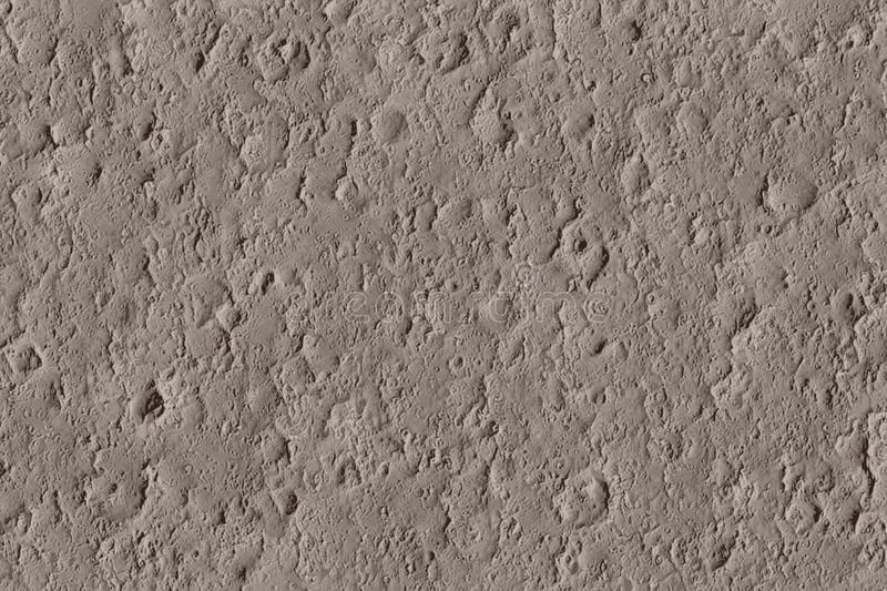 Texture of meteorite craters on the moon with impacts royalty free stock photo