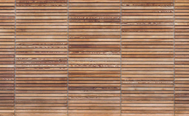 Texture Of A Modern Wooden Gate Made Of Slats Stock Image - Image of ...
